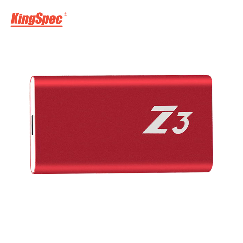 Z3-256 KingSpec Externe Portable SSD Disque Dur 256 gb USB 3.1 Type-c Solide State Disk Usb 3.0 - 2