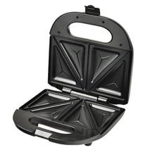 DMWD Домашний Мини треугольный сэндвич, 220 В, тостер для хлеба, Персональная машина для завтрака, инструмент для жарки яиц из нержавеющей стали 750 Вт