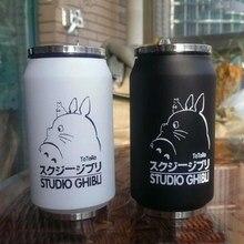 300 ml Thermobecher Vakuum Cartoon Mein Nachbar Hayao Miyazaki Totoro Edelstahl Tasse Schwanz Neuheit Becher Kreative Geschenk