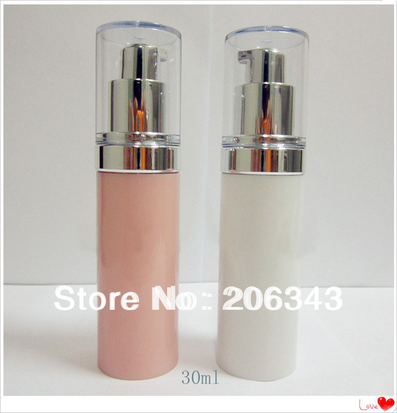 30ml White Airless Bottle Or Plastic Lotion Bottle With