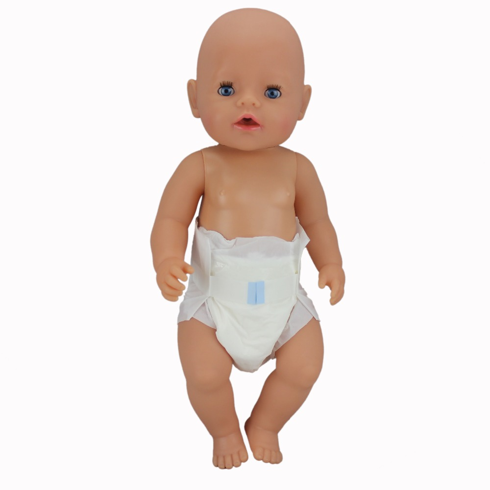 Diaper For 43cm Baby Reborn Dolls 17Inch  Dolls Accessories