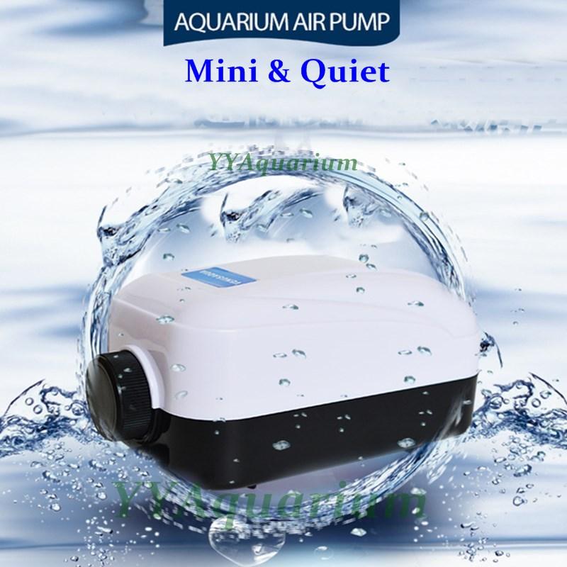 Fish Tank Silent Air Pump 220v Aquarium Adjustable Air