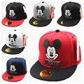 New Character Cartoon Children Kids Hip Hop Baseball Cap Summer Sun Hat Kids Boys Girls Mickey Flat Caps