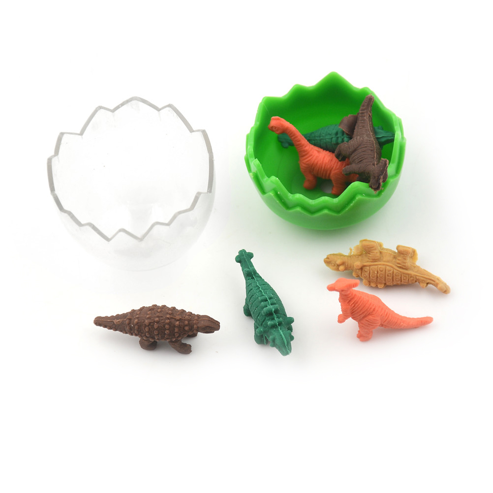 Smart Peerless 8 Pcs/lot Mini Kawaii Eraser Dinosaur Eraser For Kids Gift Korean Stationery Student Creative Pens, Pencils & Writing Supplies Eraser