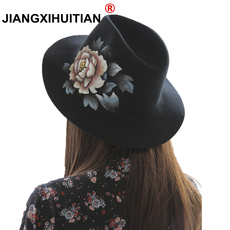 fe134df6310 Buy luxury fedora hat for woman and get free shipping on AliExpress.com