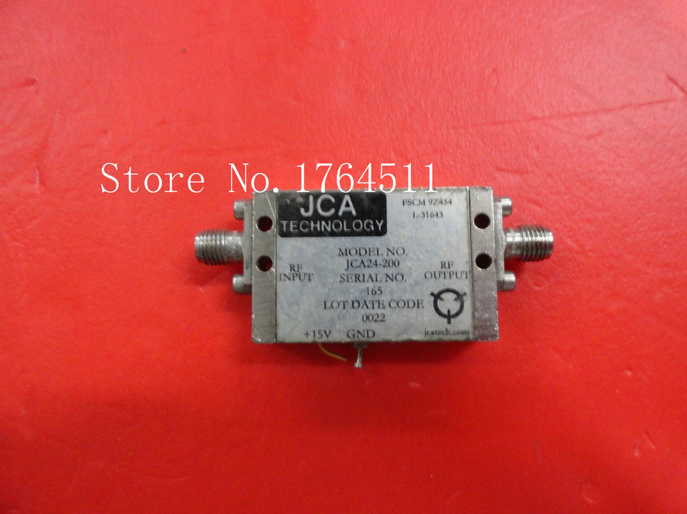 [BELLA] JCA JCA24-200 2-4GHZ 22dB 15V SMA Amplifier