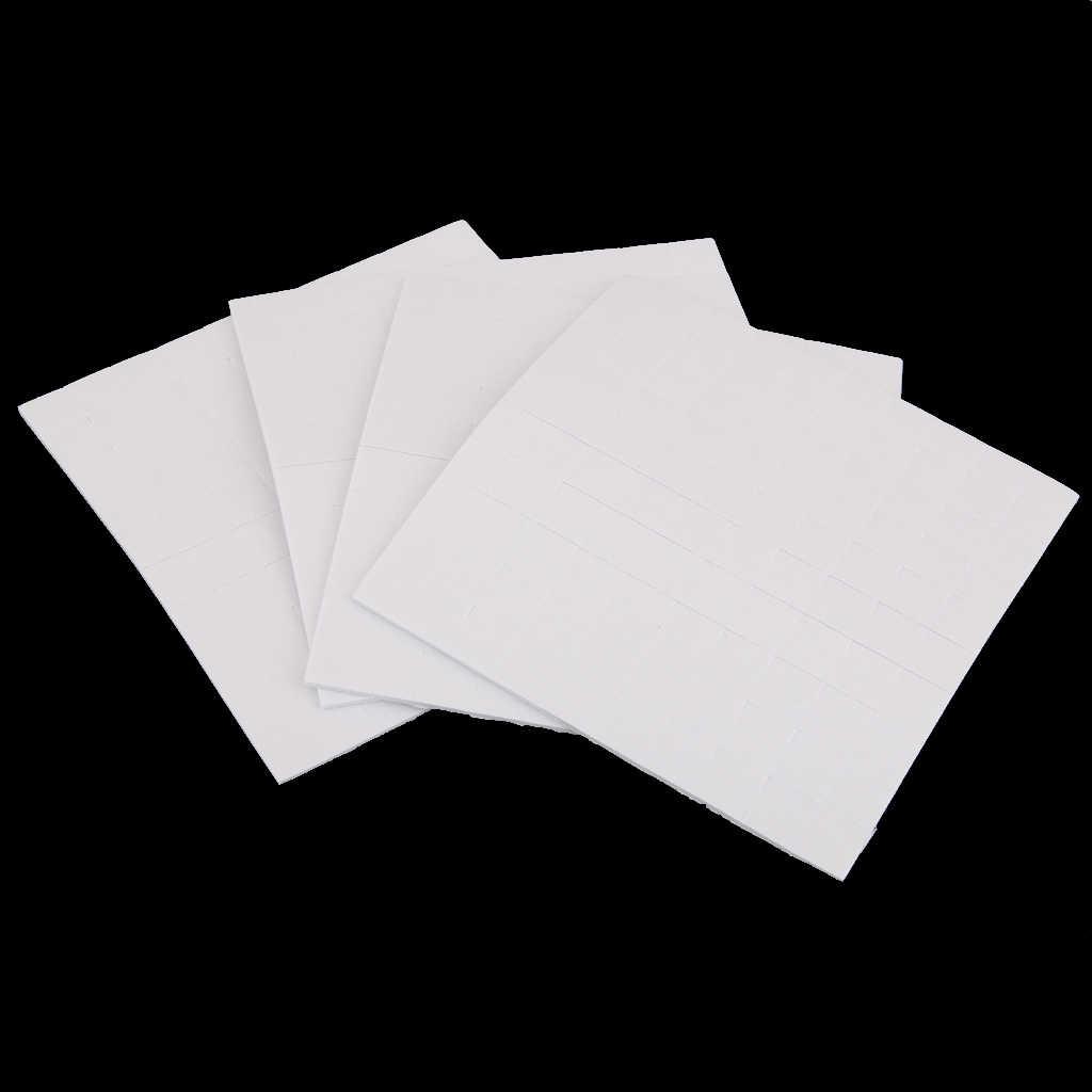 400 almohadillas de espuma adhesiva de doble cara adhesiva fijadoras para Tarjeta Artesanía Hogar Oficina
