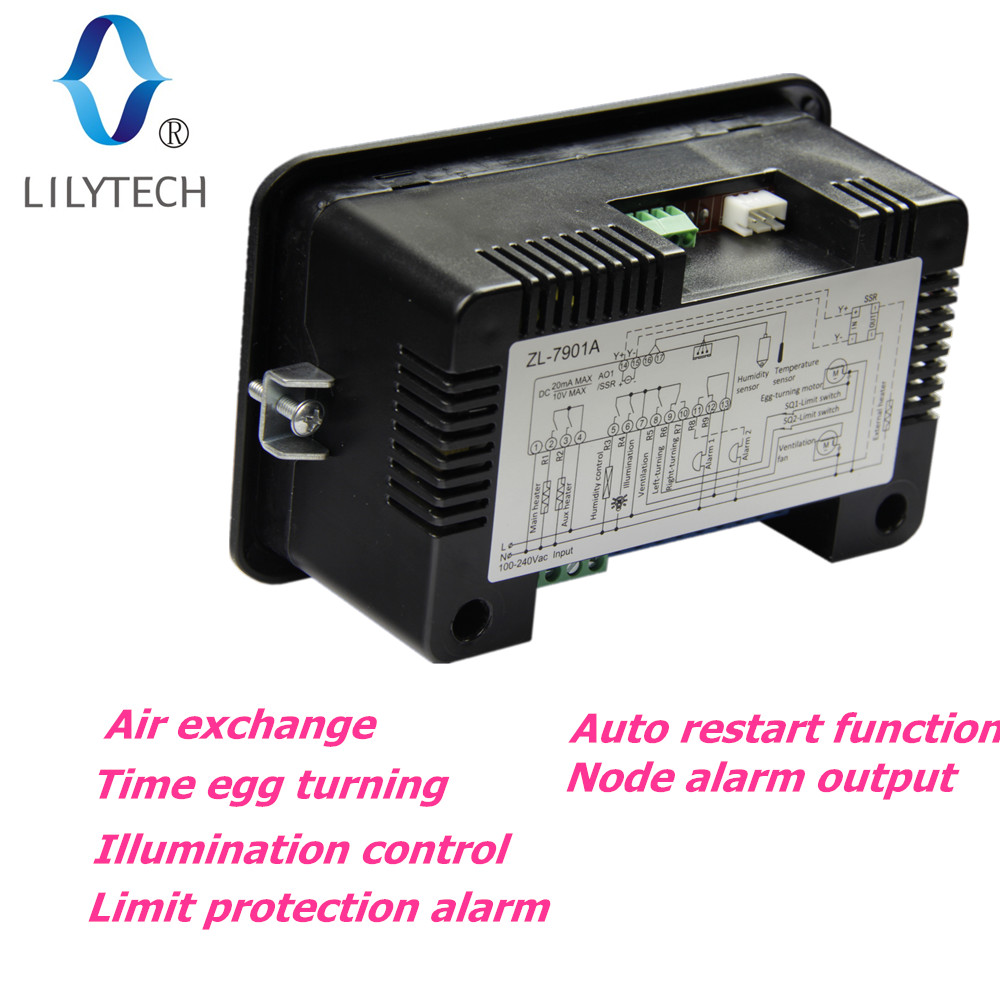 Zl 7901a100 240vac Pid Multifunctional Automatic Incubator 240v Wiring Diagram Incubatorincubator Controllertemperature Humidity For Lilytech In Temperature Instruments