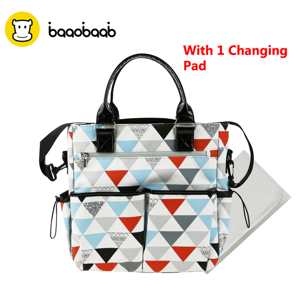 BAAOBAAB Large Capacity Baby Diaper Bag With Changing Pad for Mom Baby Bottle Holder Mother Mummy Stroller Maternity Nappy Bags 2017 new 4 colors mother bag diaper bags for mom baby large capacity nappy bags organizer stroller for maternity mummy bag