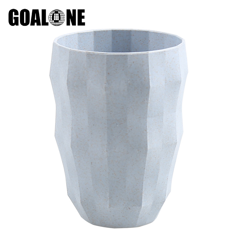 GOALONE Creative Diamond Toothbrush Cup Nordic Food Grade Wheat Straw Bathroom Eco Friendly Holder
