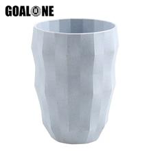 GOALONE Creative Diamond Toothbrush Cup Nordic Food Grade Wheat Straw Bathroom Eco Friendly Holder