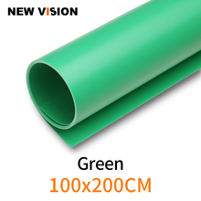 """100cm*200cm 39""""*79"""" Green Seamless Water proof PVC Backdrop Background Paper for Photo Video Photography Studio"""
