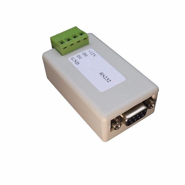 Seriële Poort RS232 naar Wiegand WG bidirectionele transmissie ASCII/HEX Voor Deur Toegangscontrole