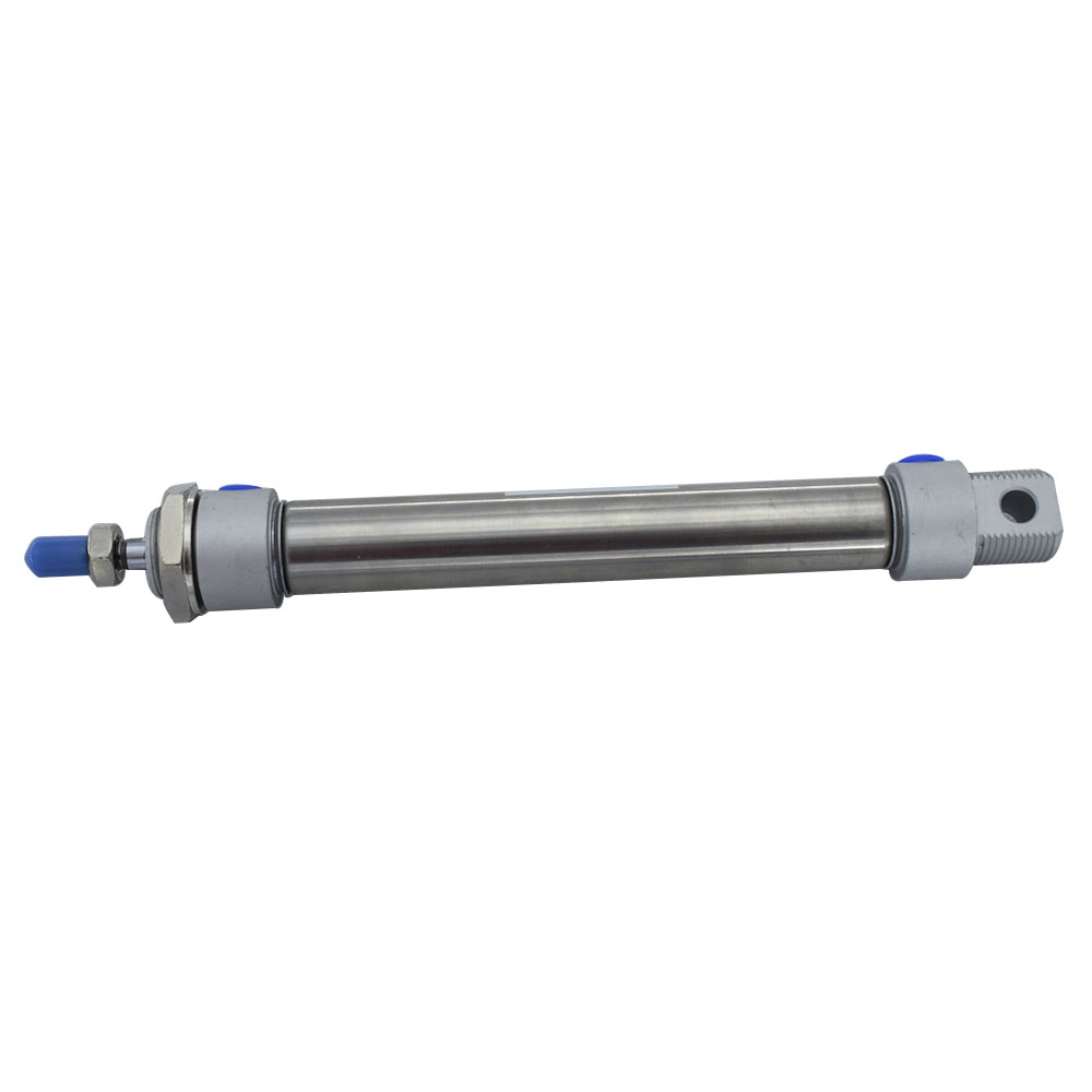 Stainless Steel MA Type 20mm Bore Pneumatic Cylinder 25/50/75/100/125/150/175/200/250/300mm Stroke Double Action Air Cylinder aluminum alloy mal type pneumatic cylinder 32mm bore 25 50 75 100 125 150 200 250 300mm stroke single rod air cylinder