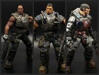 Gears of War War Machine Toys Marcus Fenix Solider PVC Action Figures NECA Figure Collector