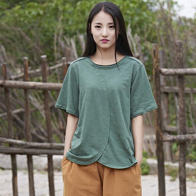 O-pescoço manga Curta 100% Algodão Mulheres Camiseta Projeto Da Novidade T-shirt Das Mulheres soltas Casual Verão Kawaii Camiseta Femme Tops B127