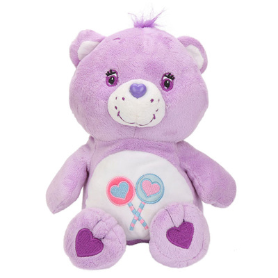 22cm Care bears plush toy Care Bears Rainbow Love Teddy bear stuffed plush doll in Movies TV from Toys Hobbies