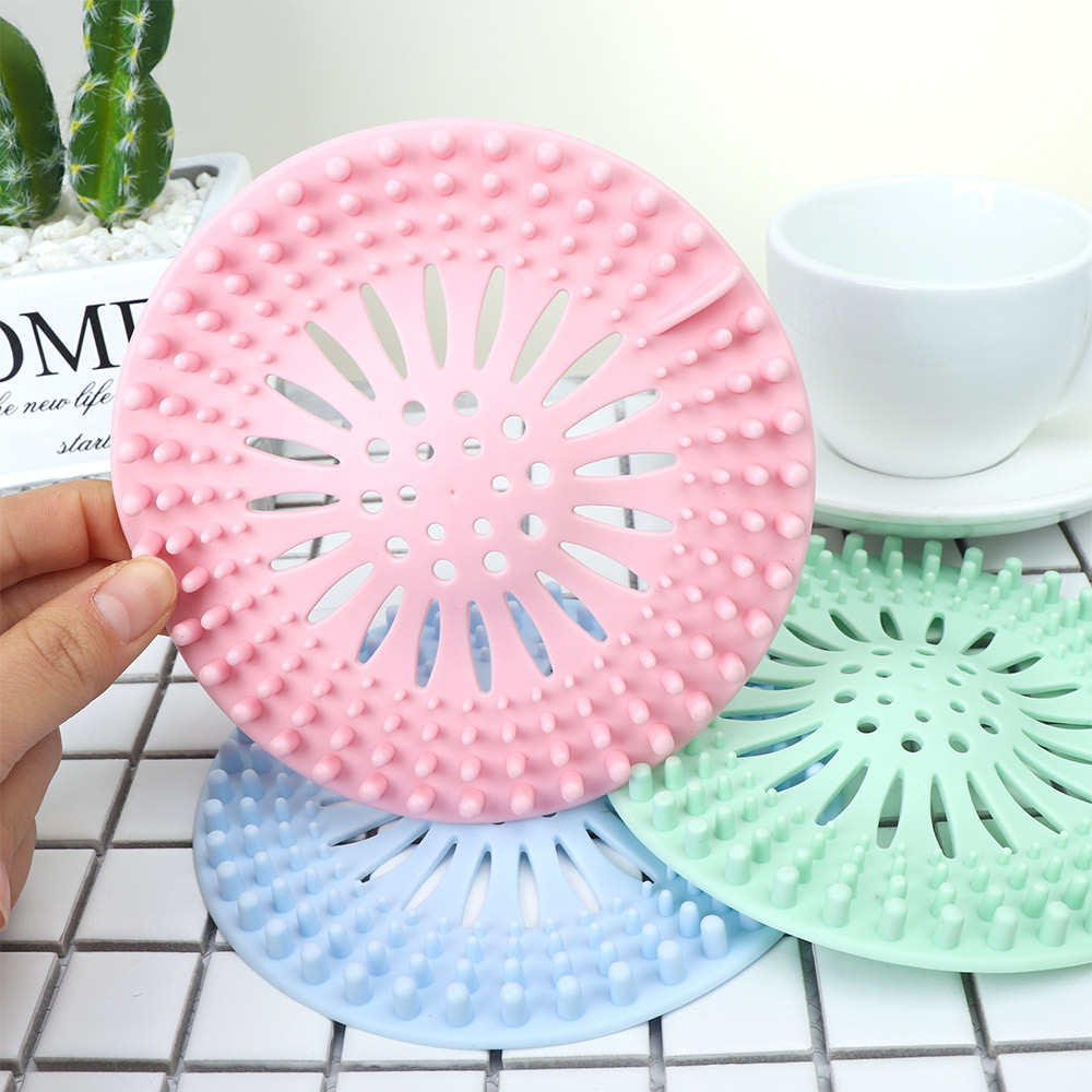 Creative Kitchen Drains Sink Strainers Filter Sewer Drain Hair Catcher Bathroom Cleaning Tool Kitchen Sink Accessories Gadgets