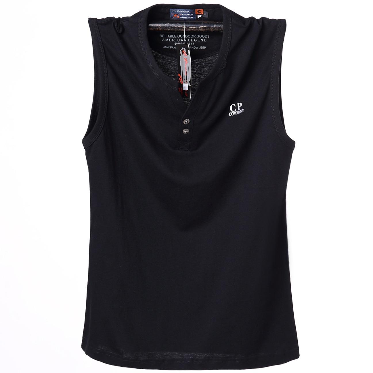 Mens Plus Size 6XL 2018 Estate Sleevesless Magliette di Cotone Bodybuilding Gilet Senza Maniche Uomini camisetas hombre