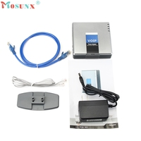 Unlocked PAP2T NA SIP VOIP Phone Adapter 2 Port Internet Phone US Adapter SWTG KXL0223