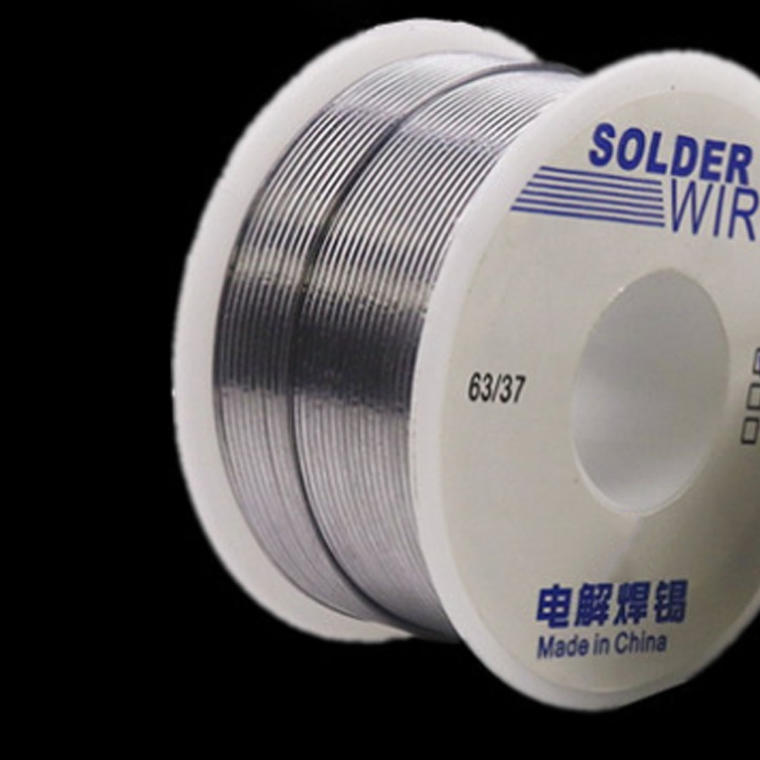 Silver Tin Lead Rosin Core Solder Wire 50g 1.0mm 0.8mm 63/37 2% Flux Reel Welding Line DIY Material Solder Soldering Wire Roll