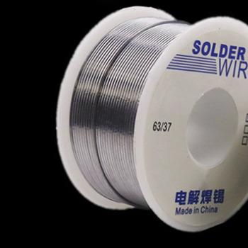 Srebrny cyna ołów rdzeń żywiczny drut lutowniczy 50g 1 0mm 0 8mm 63 37 2 Flux Reel spawanie linia DIY materiał lutowany drut lutowniczy rolka tanie i dobre opinie Kitbakechen 1 0mm 0 8mm 183-298 C Cyny GJ0410-01 2 0-2 3 Electrolytic Solder Wire Drug Core Trustable Factory Produced