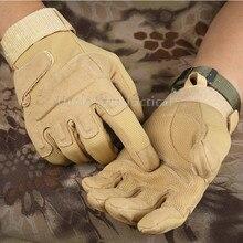 Новые военные тактические перчатки для страйкбола, пейнтбола, охоты, стрельбы, спорта на открытом воздухе, кемпинга, мотоцикла, велосипедные перчатки