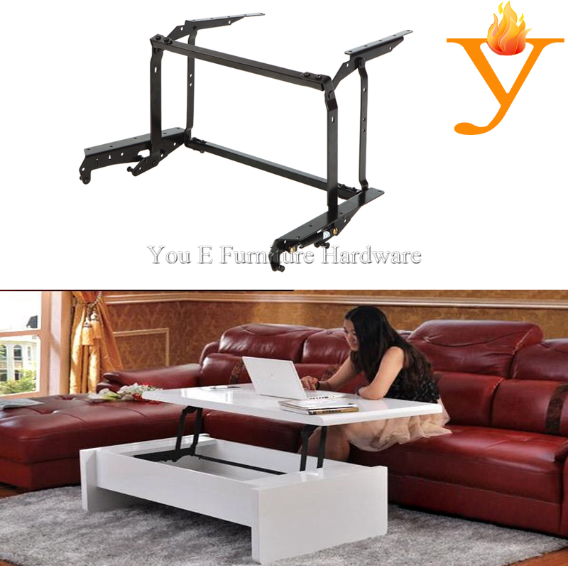 Adjustable Table Mechanism Lift Up Coffee Table Mechanism With Gas Spring B04 1