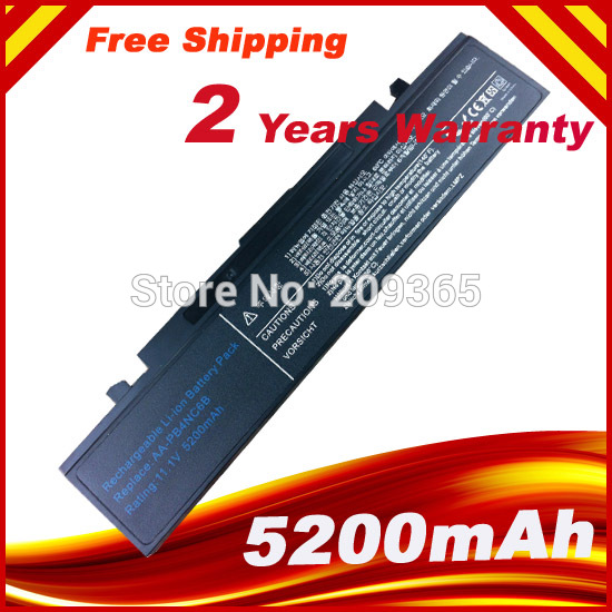 4400mAh laptop battery for SAMSUNG M60 NP P460 P50 P560 P60 Q210 Q310 R39 R40 R41 R410 R45 R460 R505 R509 R510 R560 R60 R65 R70