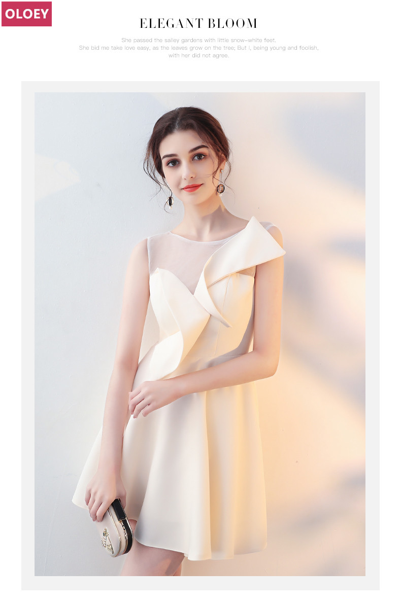 women Bridesmaid Dresses fashion dress oloey brand 016