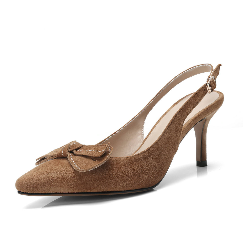 3 Punta Correa Zapatos Boda Vaca Bombas En Ante Mujer Negro Nude Delgada Pu De Eshtonshero El Damas Alto marrón La negro Tamaño Verano Tobillo 8 Tacón 16wqxv5H6f