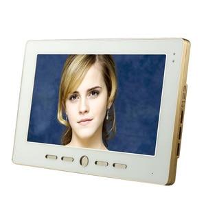 "Image 4 - ÜCRETSIZ KARGO 10 ""Inç renkli video kapı telefonu Zil Intercom Kiti 1 camera 2 monitor Gece Görüş"