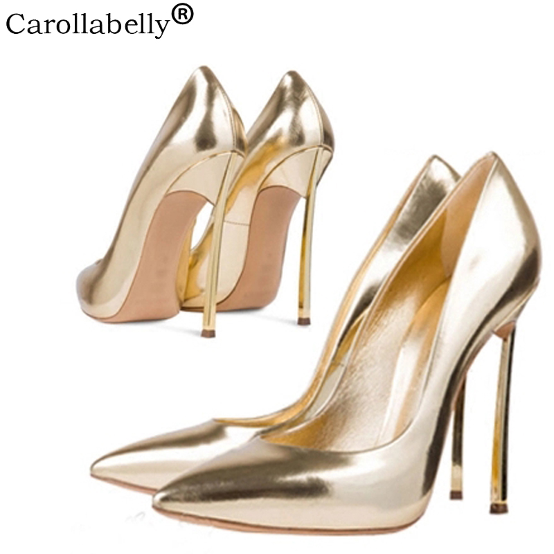 2018 Autumn High Heels Women Pumps Stiletto Thin Heel Women's Shoes Nude Pointed Toe High Heels Wedding Shoes size 33-43 aidocrystal shoes woman high heels women pumps stiletto thin heel women s shoes pointed toe high heels wedding shoes size 35 42