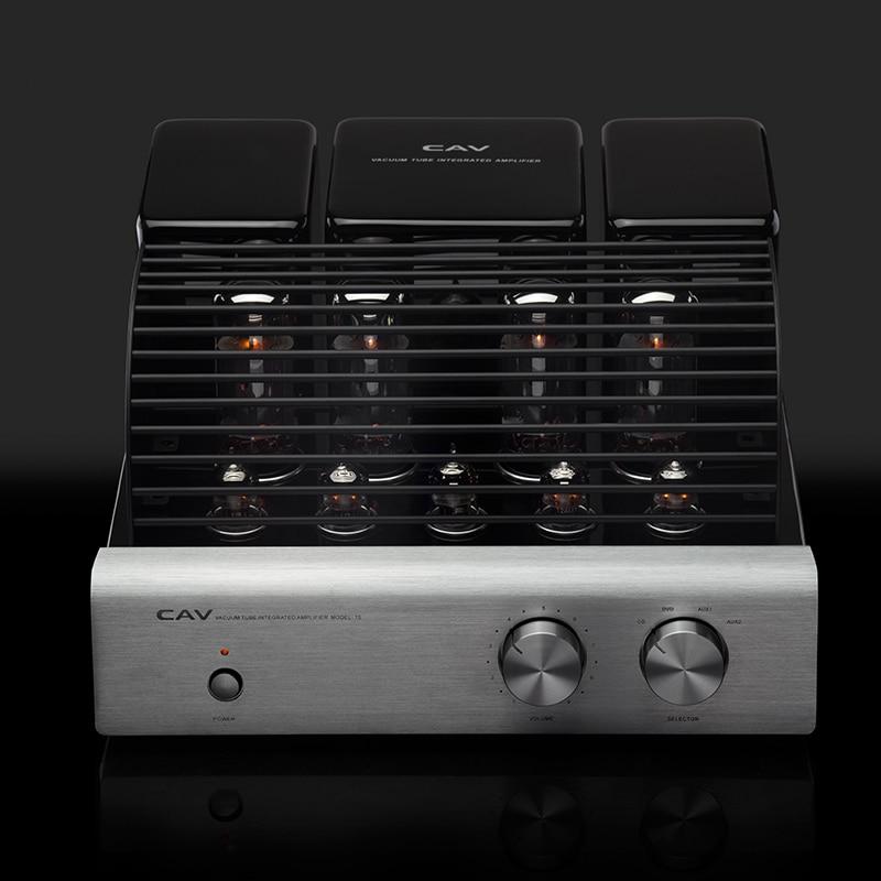 Электрические плиты CAV T-5 трубки усилители домашние высокое качество производства ЦАП HIFI аудио для колонки 20 Вт канала 2,0 high Fidelity мощность (Фото 3)
