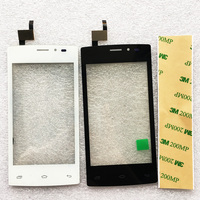 Glass Panel Sensor For Tele2 Mini Touch Digitizer Touch Screen Mobile Phone Front Glass Lens Replacement