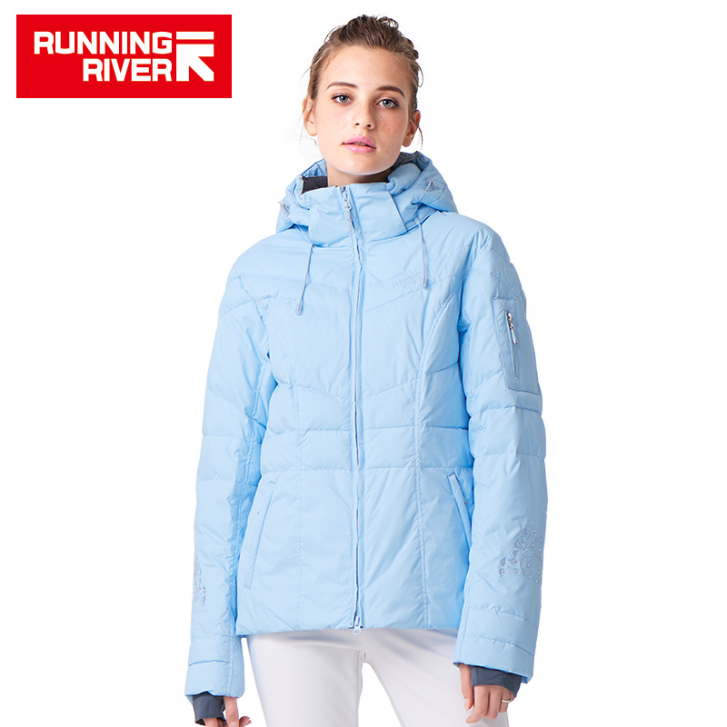 RUNNING RIVER Brand Women Ski Jacket Hot Sale High Quality Ski Jackets New Arrival Women Ski Suit Warm Skiing Snow Coat #L4985