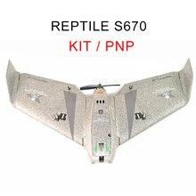 KIT de avión teledirigido, reptil S670 V2 SKY SHADOW 670mm Wingspan FPV EPP Flying Wing Racer, PNP