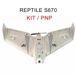 Image 1 - الزواحف S670 V2 السماء الظل 670 مللي متر الجناح FPV EPP تحلق الجناح المتسابق RC طائرة عدة/PNP