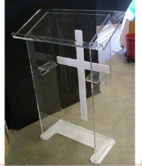 Acrylic Podium Acrylic Podium Stand Acrylic Lectern, Perspex Podium Plexiglass Church Pulpit Plexiglass