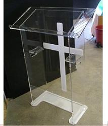 Akrylowe Podium akrylowe Podium stojak akrylowy mównica  pleksi Podium pleksi kościelna ambona pleksi|Biurka do recepcji|   -
