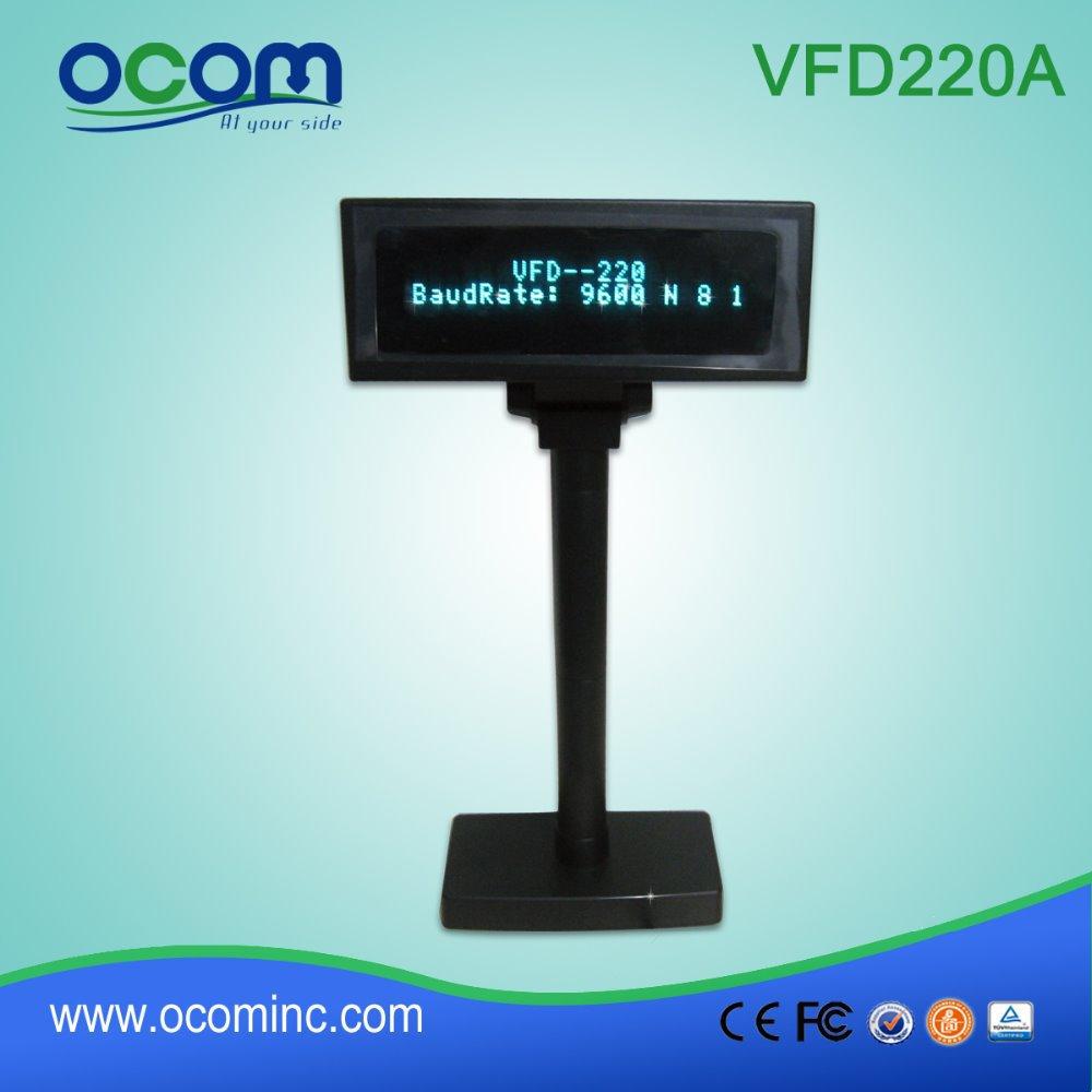 VFD Cash Register Customer Pole Display Serial Port (VFD220A)