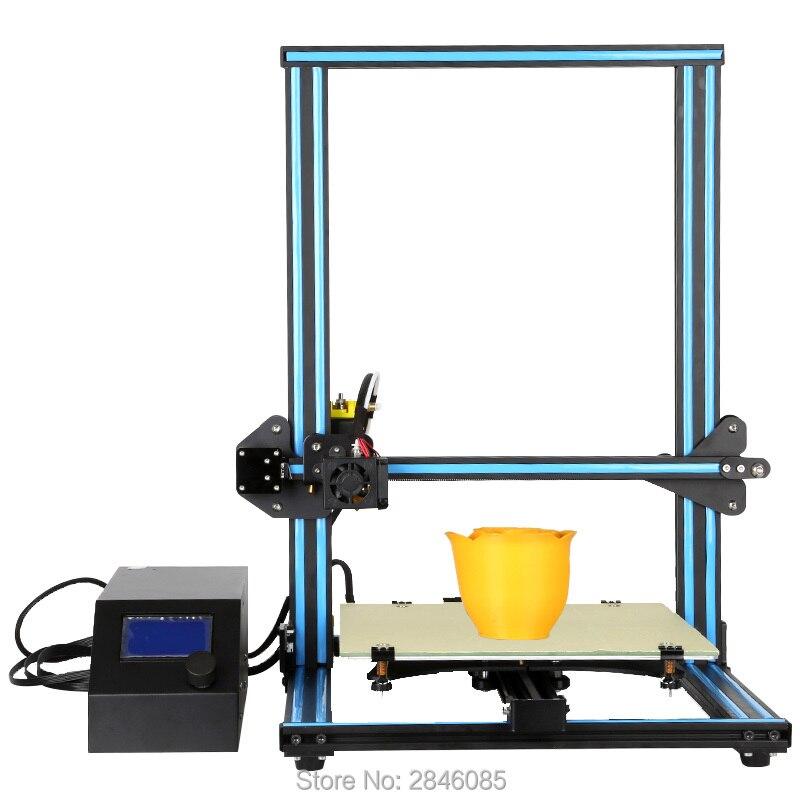 2017 Hot CR-10 CREALITY 3D Impresora 3D Kit DIY Letra Grande Tamaño 300*300*400m