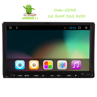 2017 Latest Android 7 1 6 2 In Dash Head Unit Double 2 Din Car Radio