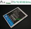 Para THL W8 Batería A Estrenar Nueva 2000 mAh Li-ion Batería de Reemplazo para THL W8 W8s W8 + W8 Allá Teléfono inteligente