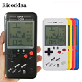 Retro Tetris Handheld Game Player 3.5'' LCD Electronic Game Toys Pocket Game Console Riddle Educational Toy Classic Players