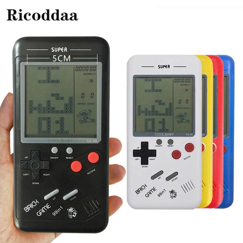 FäHig Retro Tetris Handspiel-spieler 3,5 lcd Elektronische Spiel Spielzeug Tasche Spielkonsole Rätsel Pädagogisches Spielzeug Klassischen Spieler Portable Spielkonsolen