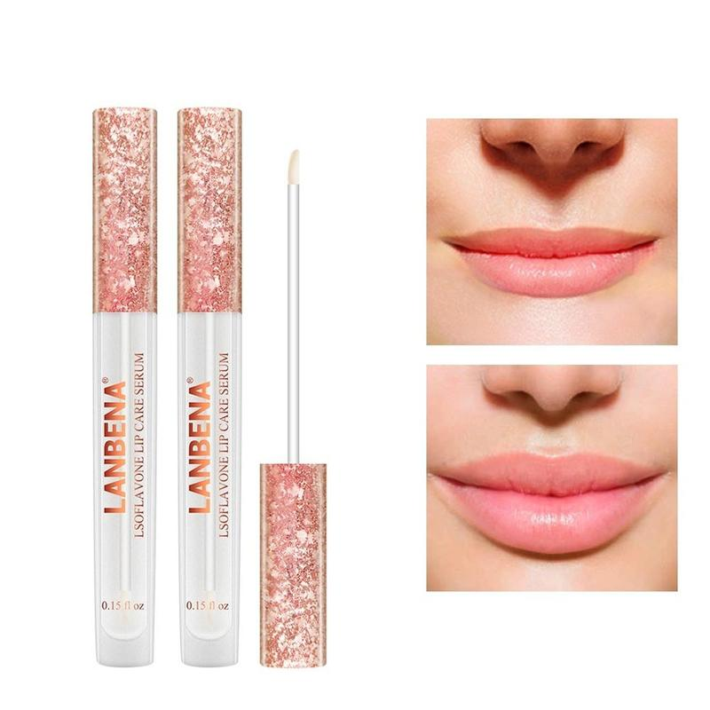 Lanbena 4.5ml Lip Pumper Augmentation Lip Skin Care Products Increase Moisturizing Lip Elasticity Plumper Makeup Products