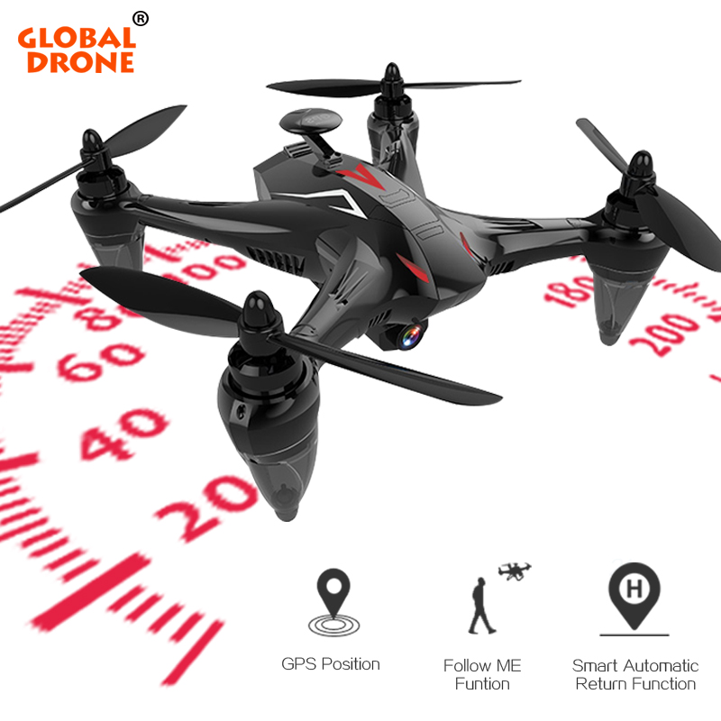 Глобальный Дрон Ray Professional gps Дрон с г 5 г WiFi FPV камера Follow Me Квадрокоптер бесщеточный RC Дрон VS X198 X183
