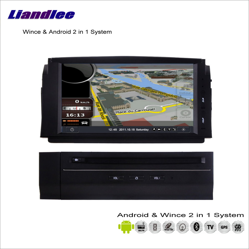 Liandlee Car Android Multimedia Stereo For Mercedes Benz C Class W204 2007~2011 Radio CD DVD Player GPS Navigation Audio Video