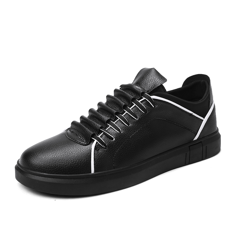 Appartements X015 forme gray X015 Hommes Mode Automne Casual Zapatos white Plate Loisirs Et Black Sneaker Chaussures Classique D'hiver Jogging Hombre De X015 qz0q14